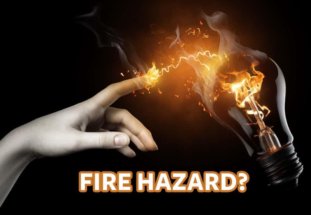 Smart Bulbs Fire Hazard