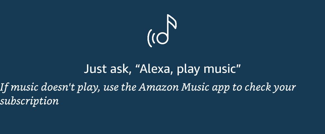 alexa music